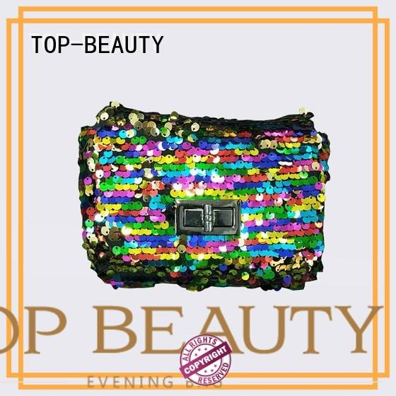 spring velvet wooden sequins sling bags TOP-BEAUTY Arts & Crafts