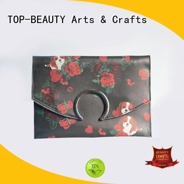 TOP-BEAUTY Arts & Crafts new trending envelope clutch round closure for shopping