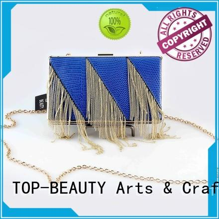 attractive evening clutch with tassel bead series for women TOP-BEAUTY Arts & Crafts
