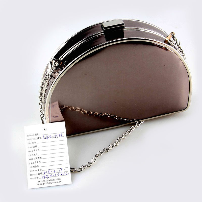 TOP-BEAUTY Arts & Crafts 2018 China wholesale Mirror PU Evening Bag For Ladies image2
