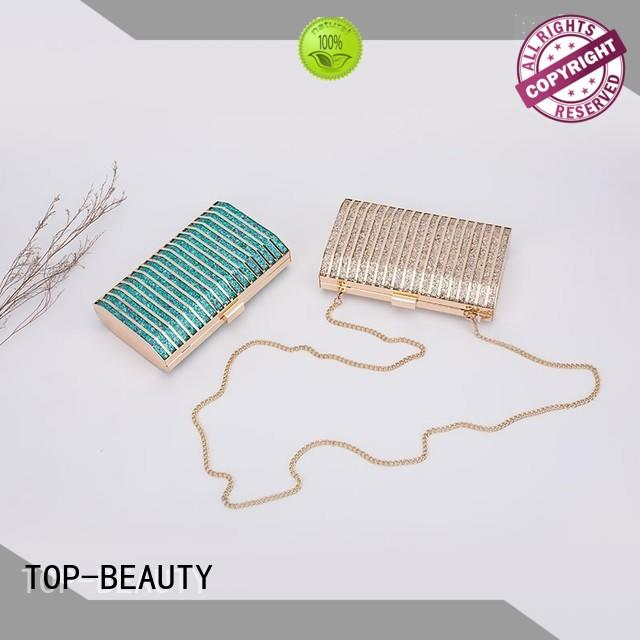 TOP-BEAUTY Arts & Crafts high quality metal clutch wholesale for shopping