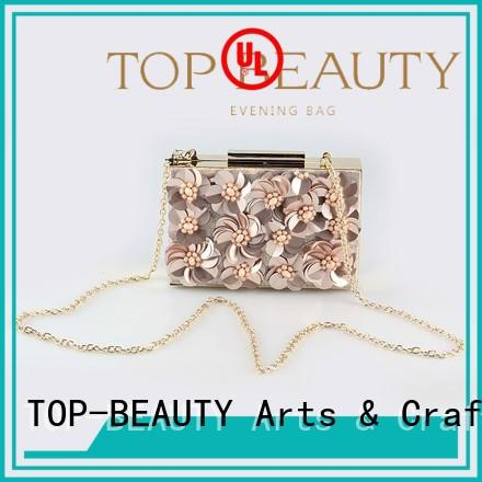 metal top selling TOP-BEAUTY Arts & Crafts Brand shiny sequins bags wholesale