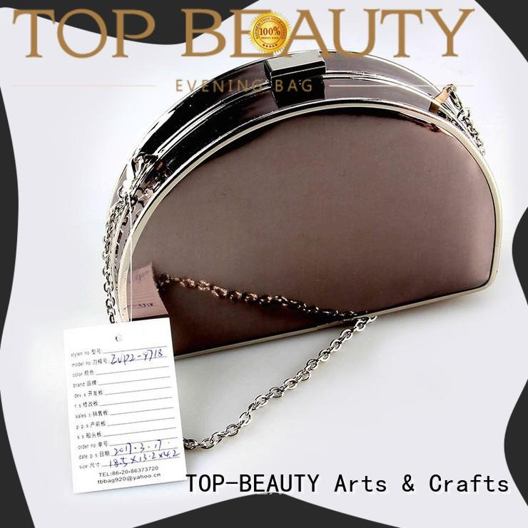 TOP-BEAUTY Arts & Crafts modern design metallic bags wholesale for shopping