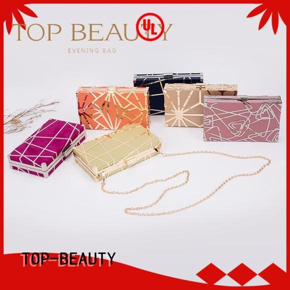 TOP-BEAUTY Arts & Crafts Brand hotsale mirror party sequinsslingbags manufacture