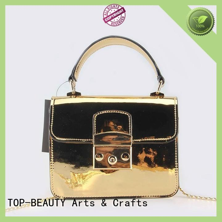 TOP-BEAUTY Arts & Crafts metallic bags wholesale for travel