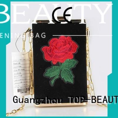 shiny sequins bags wholesale closure crossbody pu TOP-BEAUTY Arts & Crafts Brand
