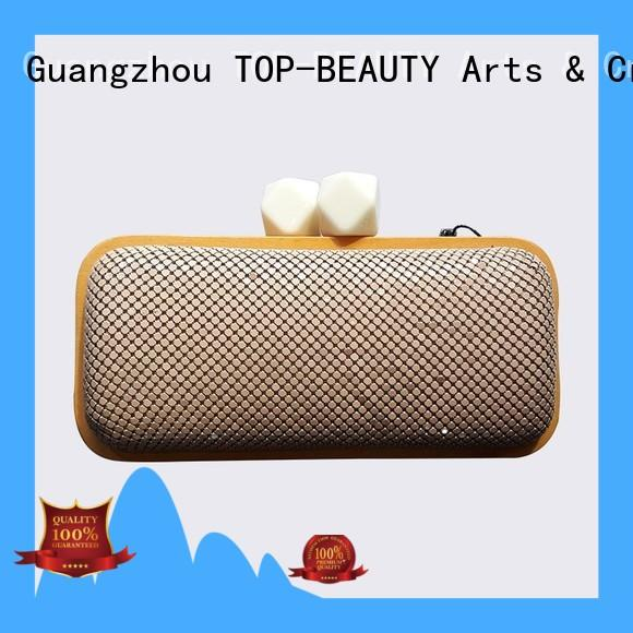 TOP-BEAUTY Arts & Crafts frame clutch supplier for women