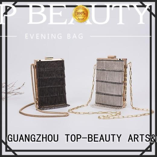 wooden women shiny sequins bags wholesale fashion TOP-BEAUTY Arts & Crafts company