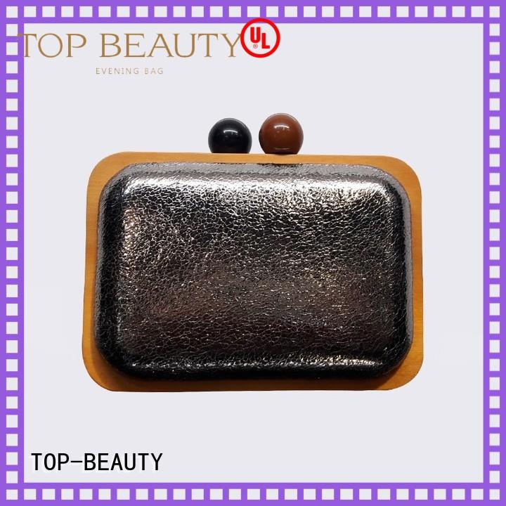 TOP-BEAUTY Arts & Crafts Brand frame clutch shiny sequins bags wholesale creditable