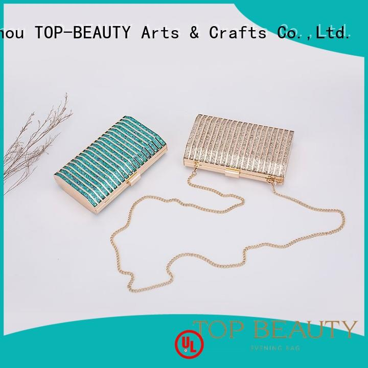 TOP-BEAUTY Arts & Crafts Brand professional rhinestone embroidery shiny sequins bags wholesale