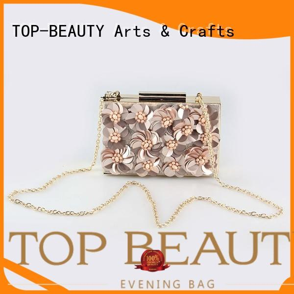 TOP-BEAUTY Arts & Crafts floral clutch series for travel