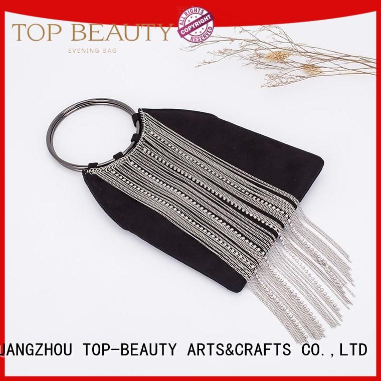TOP-BEAUTY Arts & Crafts Brand velvet high quality sequinsslingbags glitter factory