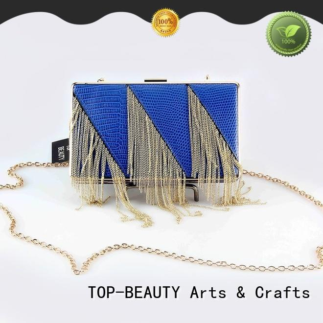 TOP-BEAUTY Arts & Crafts modern evening clutch bags series for women