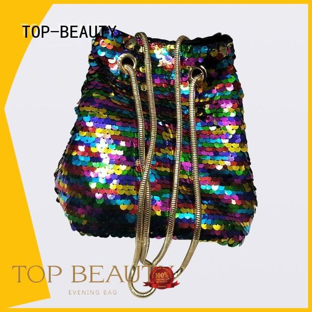 TOP-BEAUTY Arts & Crafts Brand flower chain shiny sequins bags wholesale party