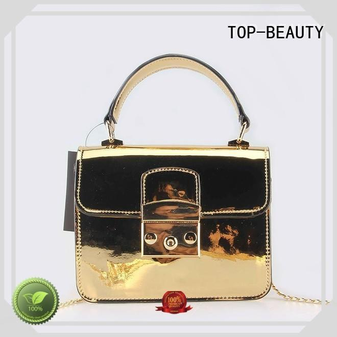 TOP-BEAUTY Arts & Crafts popular metallic crossbody bags wholesale gold for party