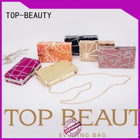 TOP-BEAUTY Arts & Crafts beautiful glitter clutches directly sale for women