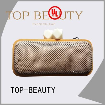 TOP-BEAUTY Arts & Crafts Brand cosmetic fashionable shiny sequins bags wholesale crossbody supplier
