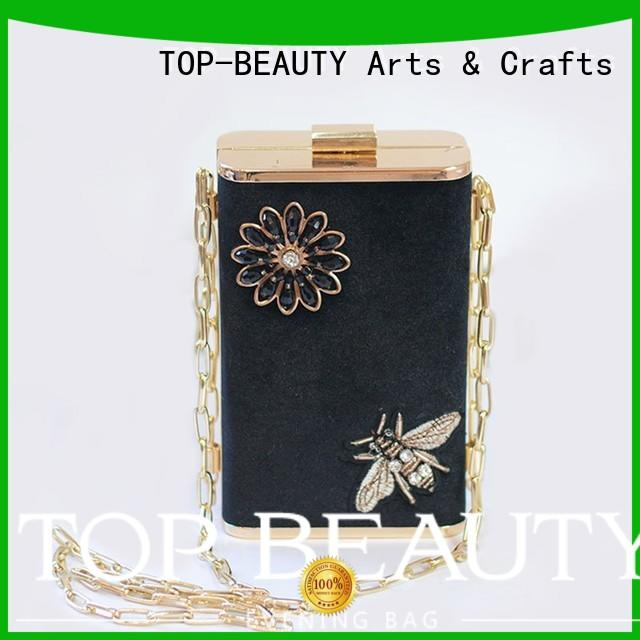 Quality TOP-BEAUTY Arts & Crafts Brand shiny sequins bags wholesale tassel fashionable