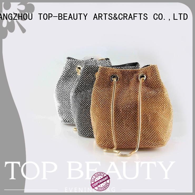 Hot bead shiny sequins bags wholesale wooden TOP-BEAUTY Arts & Crafts Brand