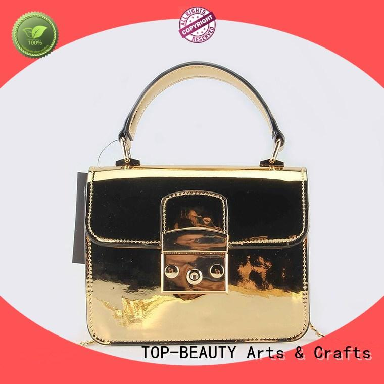 TOP-BEAUTY Arts & Crafts beautiful metallic bags manufacturer for travel
