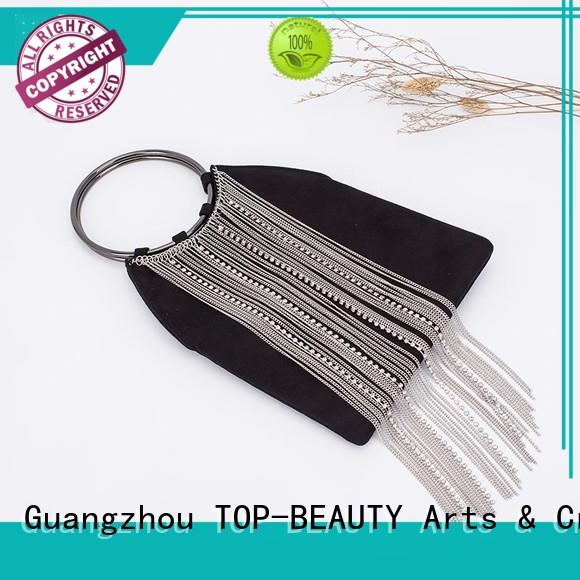 elegant evening clutch with tassel bead series for party TOP-BEAUTY Arts & Crafts