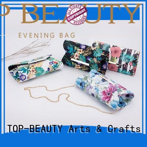 TOP-BEAUTY Arts & Crafts floral clutch series for women