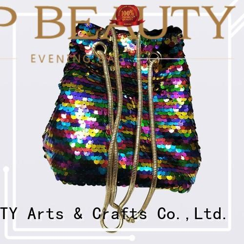 Custom bead sequinsslingbags handmade TOP-BEAUTY Arts & Crafts
