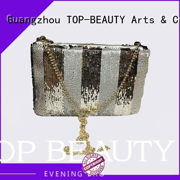 print design shiny sequins bags wholesale TOP-BEAUTY Arts & Crafts manufacture