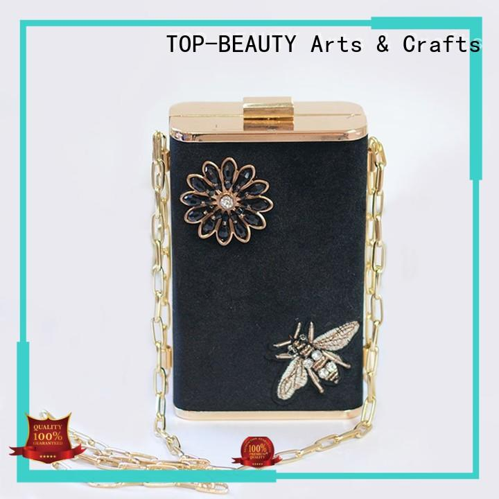 beautiful glitter clutches OEM for travel