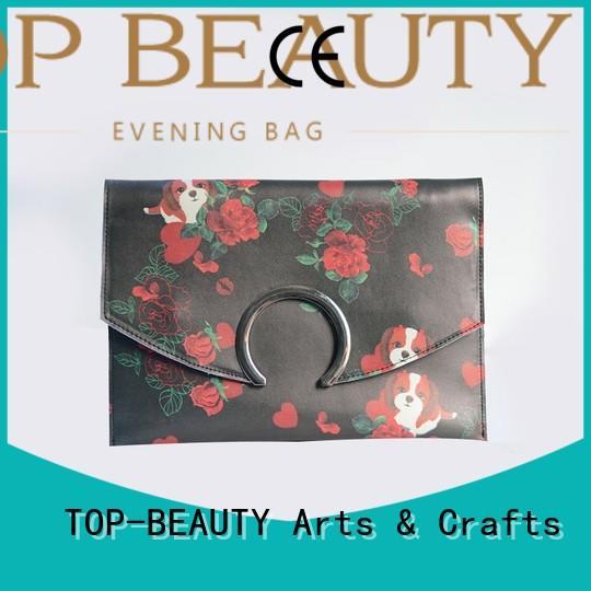 TOP-BEAUTY Arts & Crafts Brand closure popular mirror sequinsslingbags manufacture