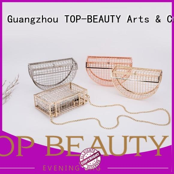 TOP-BEAUTY Arts & Crafts high quality glitter clutches directly sale for travel