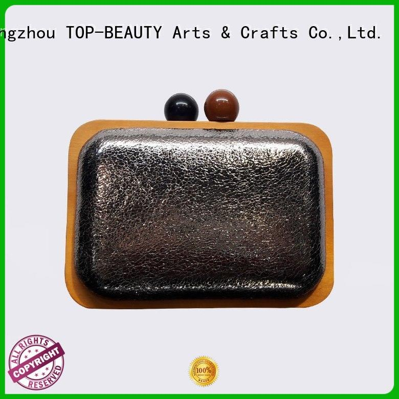 TOP-BEAUTY Arts & Crafts fashion frame clutch wholesale for women