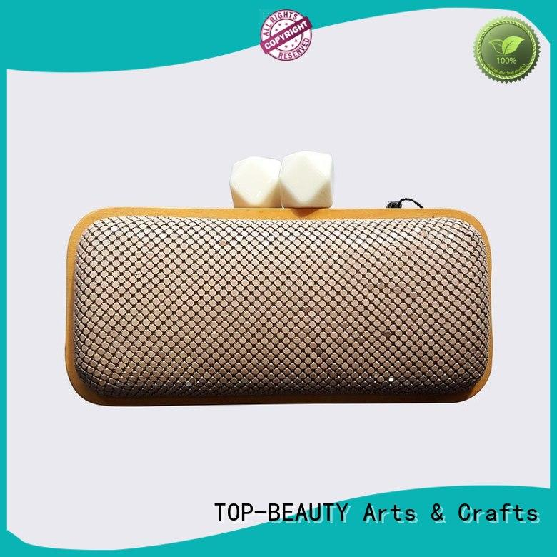 TOP-BEAUTY Arts & Crafts evening clutch bags manufacturer for shopping