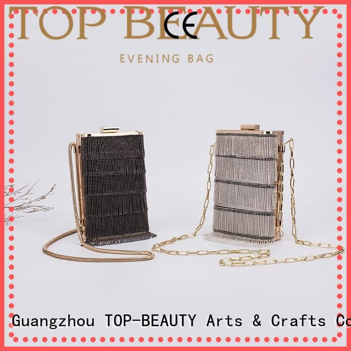 shiny sequins bags wholesale envelope clutch tassel TOP-BEAUTY Arts & Crafts Brand company