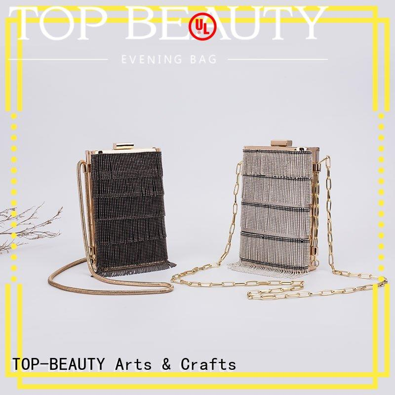 TOP-BEAUTY Arts & Crafts Brand clutch spring sequinsslingbags popular factory