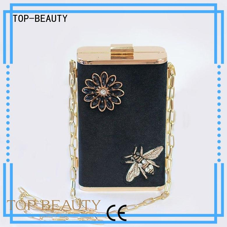 TOP-BEAUTY Arts & Crafts Brand arrival metallic spring sequinsslingbags manufacture