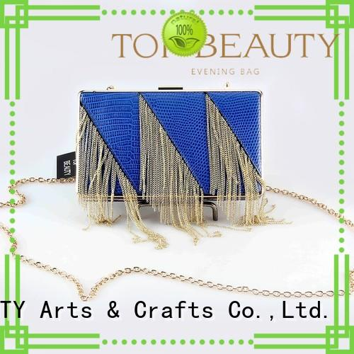 Quality TOP-BEAUTY Arts & Crafts Brand wholesalemirror snake sequinsslingbags
