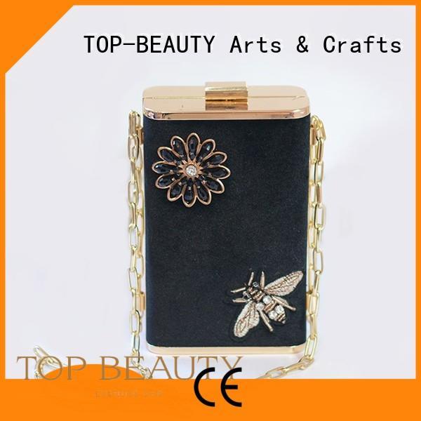 Wholesale wooden long sequinsslingbags TOP-BEAUTY Arts & Crafts Brand