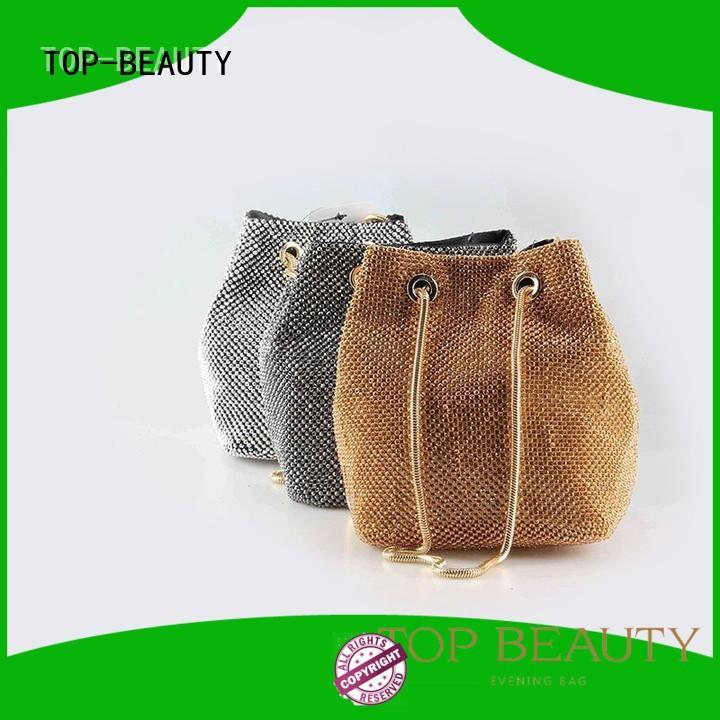 TOP-BEAUTY Arts & Crafts Brand envelope ladies crossbody shiny sequins bags wholesale