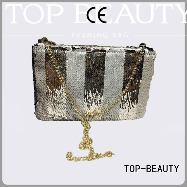 shiny sequins bags wholesale messenger handmade fashionable TOP-BEAUTY Arts & Crafts Brand sequinsslingbags