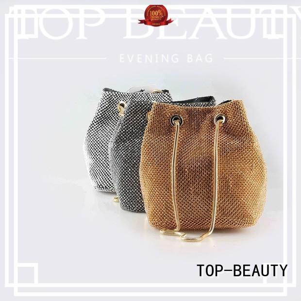 TOP-BEAUTY Arts & Crafts Brand bucketbag bead shiny sequins bags wholesale