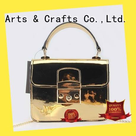 TOP-BEAUTY Arts & Crafts gold crossbody bags customized for travel