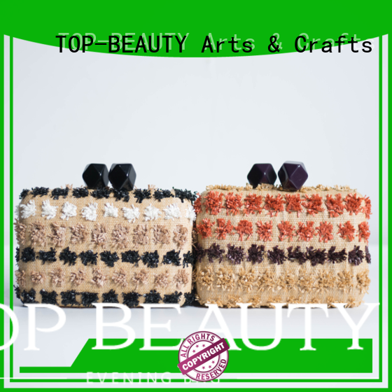 tassels cute fashion shiny TOP-BEAUTY Arts & Crafts Brand sequinsslingbags supplier
