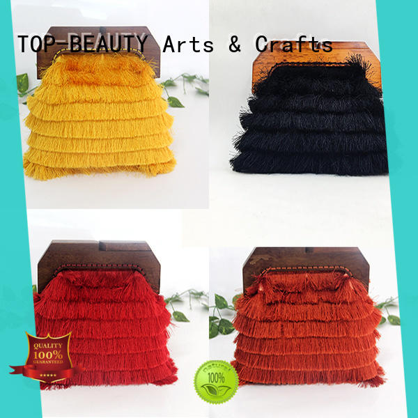TOP-BEAUTY Arts & Crafts frame clutch manufacturer for party