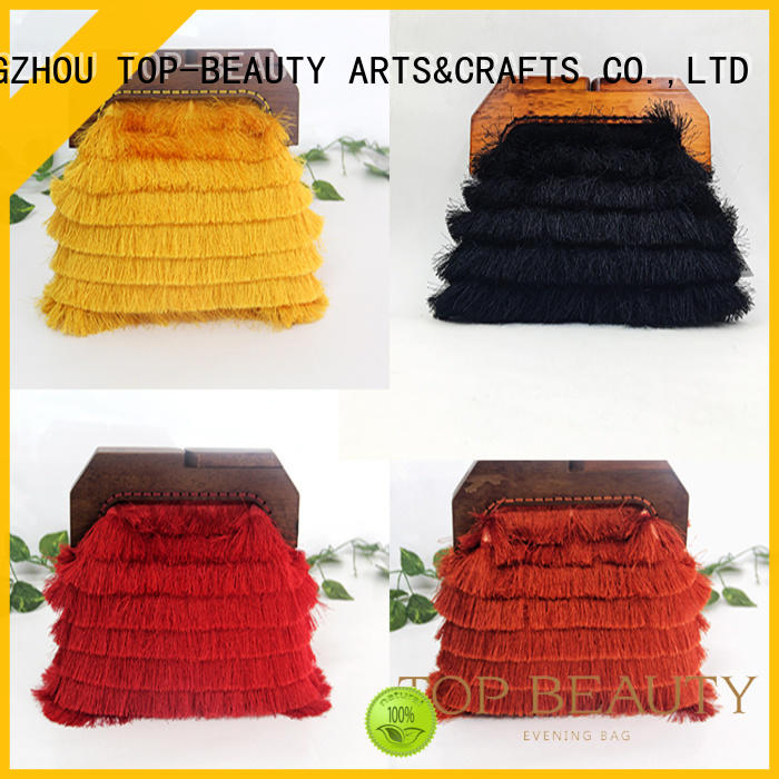 TOP-BEAUTY Arts & Crafts Brand case collection classical custom shiny sequins bags wholesale
