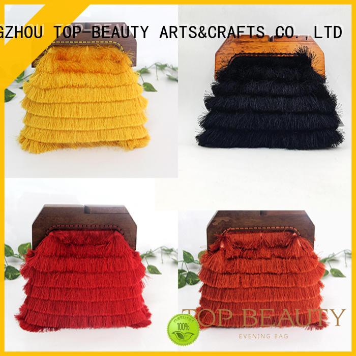 TOP-BEAUTY Arts & Crafts Brand hot sale sequin envelope print sequinsslingbags