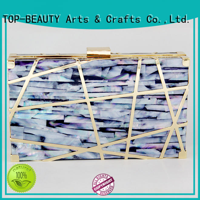 TOP-BEAUTY Arts & Crafts stylish evening clutch wholesale for ladies