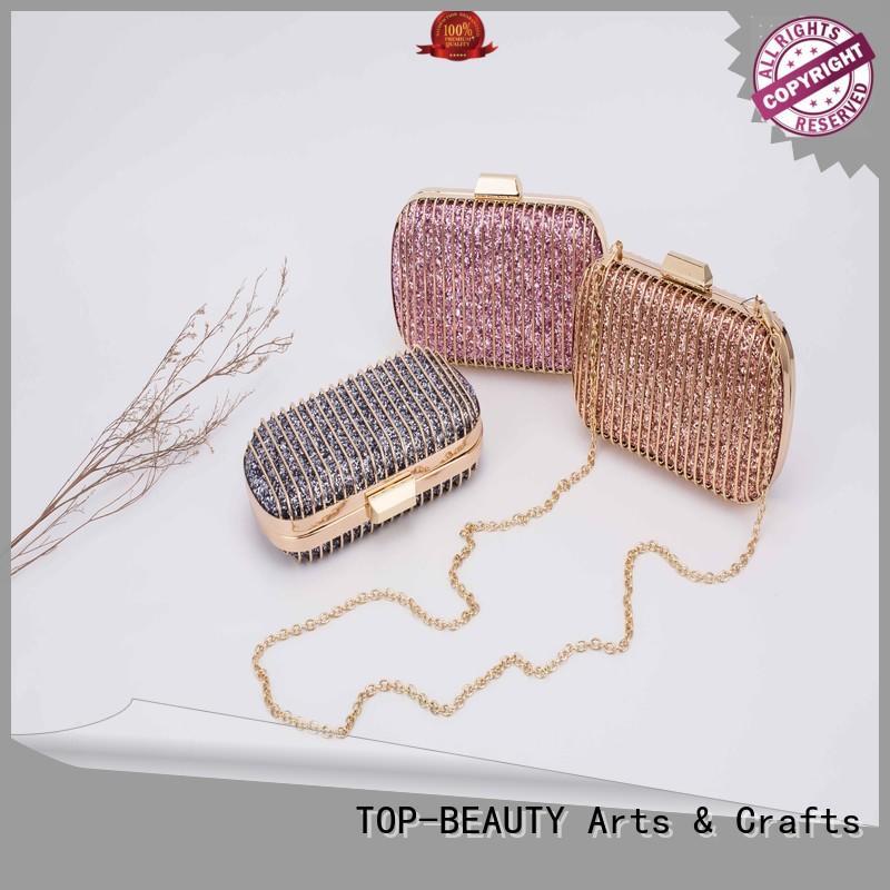 elegant glitter clutches OEM for shopping