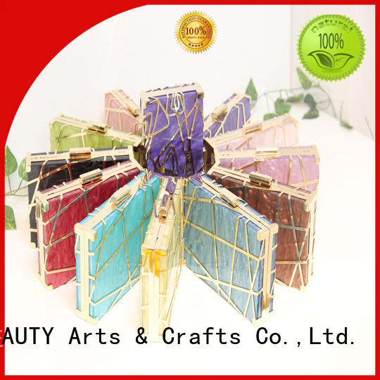 TOP-BEAUTY Arts & Crafts attractive metal clutch manufacturer for shopping