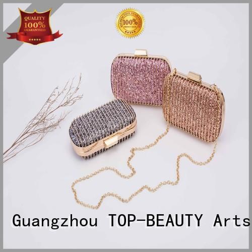 TOP-BEAUTY Arts & Crafts metal clutch wholesale for women